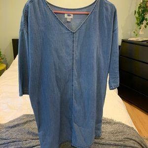 """""""Jean"""" Blue Old Navy mini dress"""